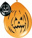 Ballon Halloween Horror Pompoen